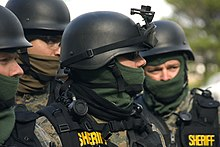 swat - wikipedia, Human body