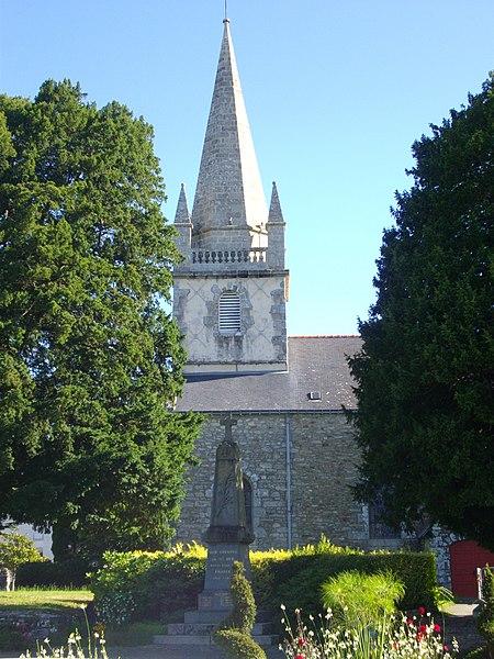 Church of Saint-Avé (Morbihan, France), bell tower
