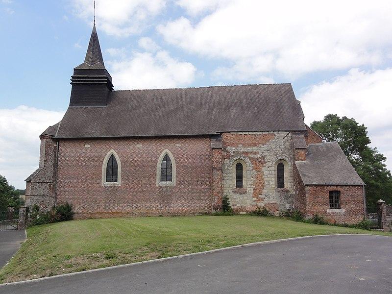 Saint-Clément (Aisne) église, latéral