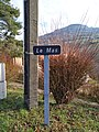 Saint-Just-d'Avray - Panneau hameau Le Mas (janv 2019).jpg