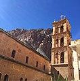 Saint Catherine's Monastery on a sunny day.jpg