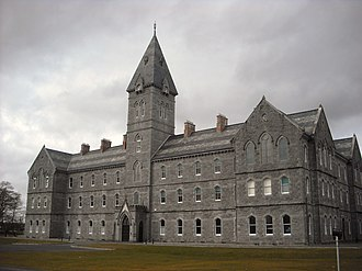 Ennis - St. Flannan's College, one of the oldest school buildings in Ireland.