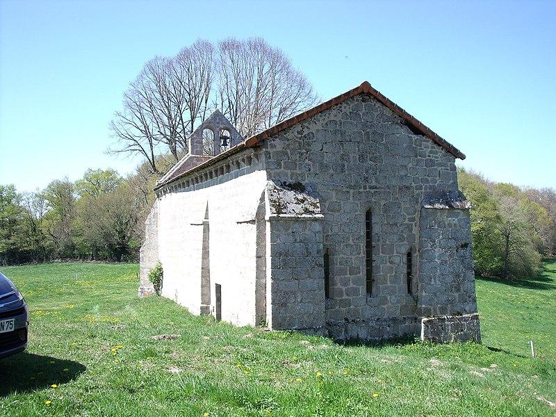Saint Frion, chapelle Fontfeyne, arrière
