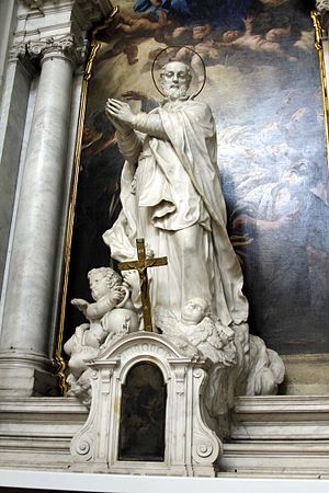 Gerolamo Emiliani - Saint Gerolamo Emiliani, Santa Maria della Salute, Venice, Italy