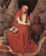 Saint Jerome in the desert - XVth cent - Detroit Institut of Art (46.359).jpg