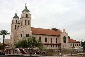 St. Mary's Basilica (Phoenix) - Image: Saint Mary's Basilica 002
