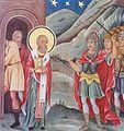 Saint Nicholas Life Scenes 1841 Fresco Simeon Molerov and Dimitar Molerov Rila Monastery 01.jpg