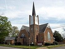 Saint Paul's Methodist Episcopal Church Anniston April 2014 1.jpg