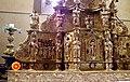 Sainte-Colome, Pyrénées atlantiques, église Saint-Sylvestre, retable du maitre autel IMGP0790.jpg