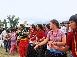 Kirat Mundhum - Kirat Rai celebrating the festival Sakela Osman