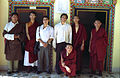 Sakya lamas and monks, sons of Sakya Trizin and Dagchen Sakya, HE Zaya Sakya and HE Ani Sakya, Sakya College, Dehra Dun, India (3948127073).jpg