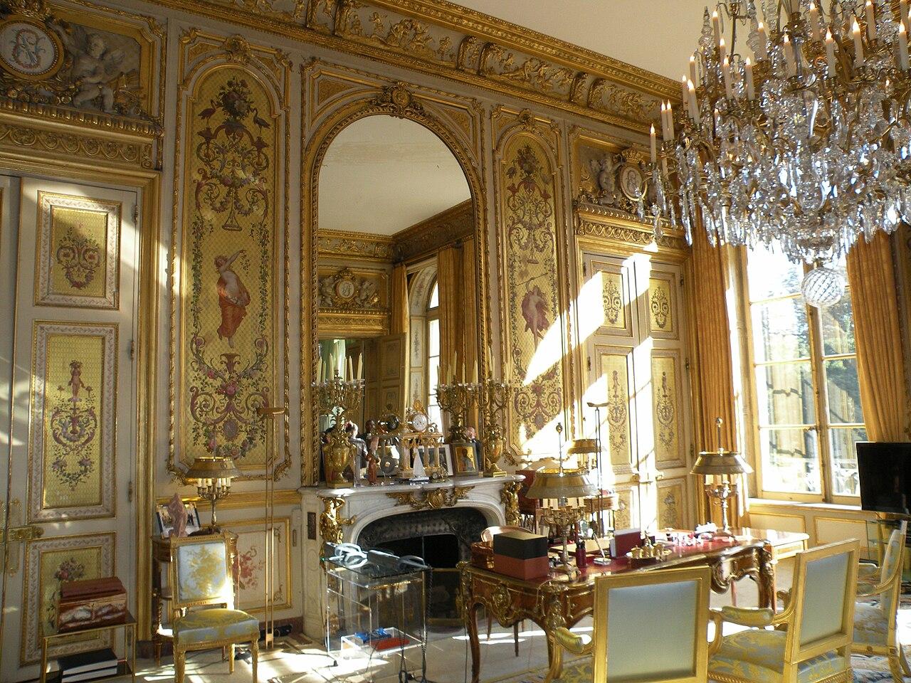 File Salon doré Palais de l'Élysée1 JPG  Wikimedia Commons