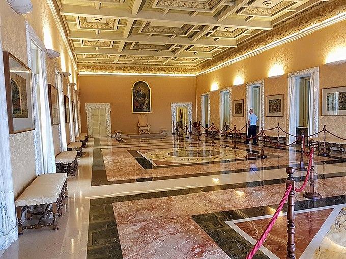 Salone degli Svizzeri Castel Gandolfo 20170714 1