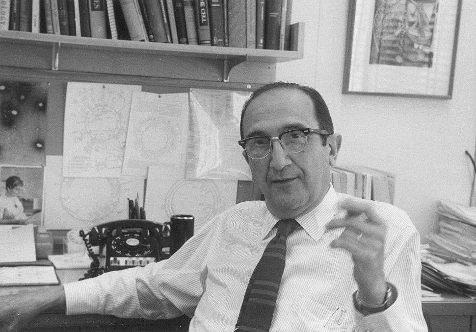 Salvador E. Luria ca.1969