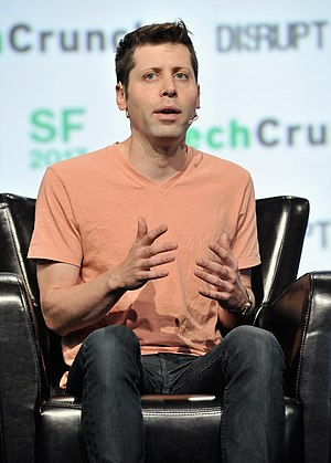 Sam Altman - Altman at TechCrunch Disrupt in 2017