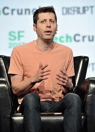 Sam Altman - Altman at TechCrunch Disrupt in 2017