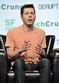 Sam Altman - TechCrunch Disrupt SF 2017 (36522988343).jpg