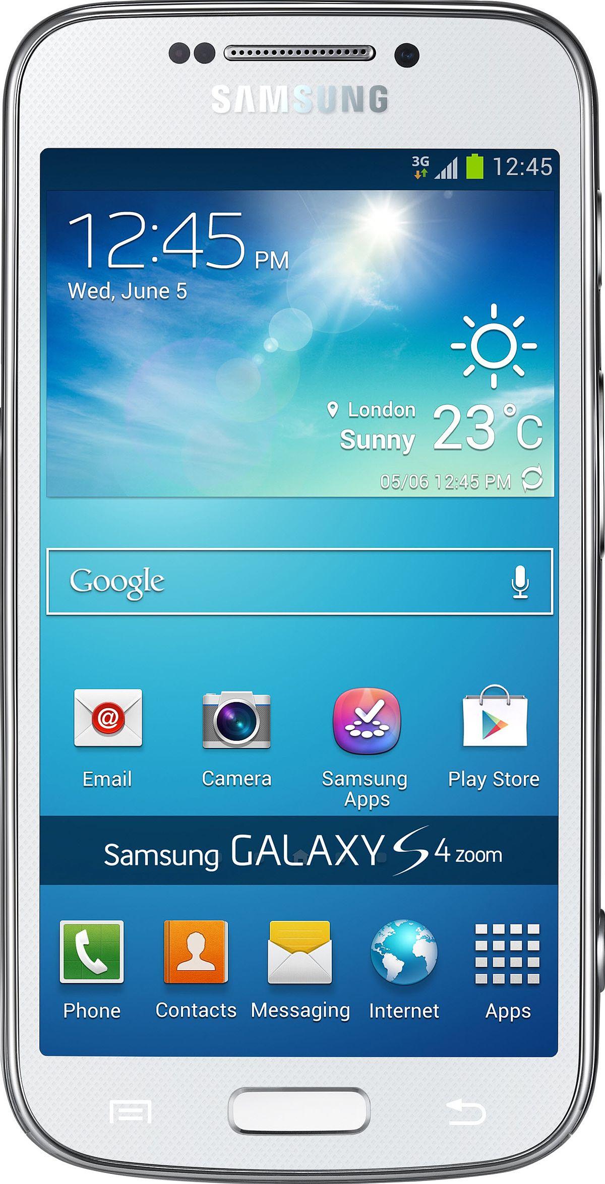 Samsung Galaxy S4 Zoom Wikipedia