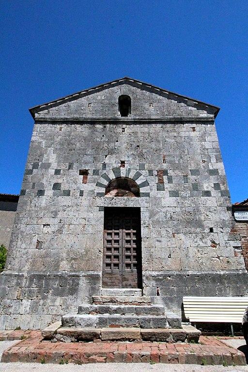 Pieve di San Lorenzo a Merse, facciata