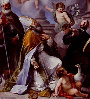 Luigi Garzi - San Geronzio, patron of Cagli for the Cagli Cathedral.