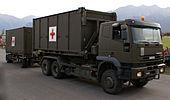 San Hist WELASYS - Schweizer Armee - Ŝtala Parado 2006.jpg