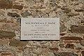 San Leo, iscrizione a Francesco D'Assisi (01).jpg
