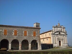 San Martino dall'Argine - Image: San Martino dall'Argine Chiesa castello
