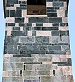 San michele di murato, campanile, con rilievi del 1140 ca. 02.jpg