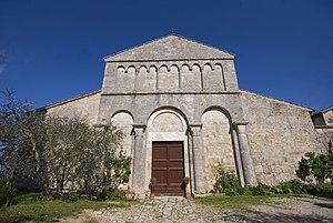 Monteroni d'Arbia - Pieve of St. John the Baptist in the frazione of Corsano