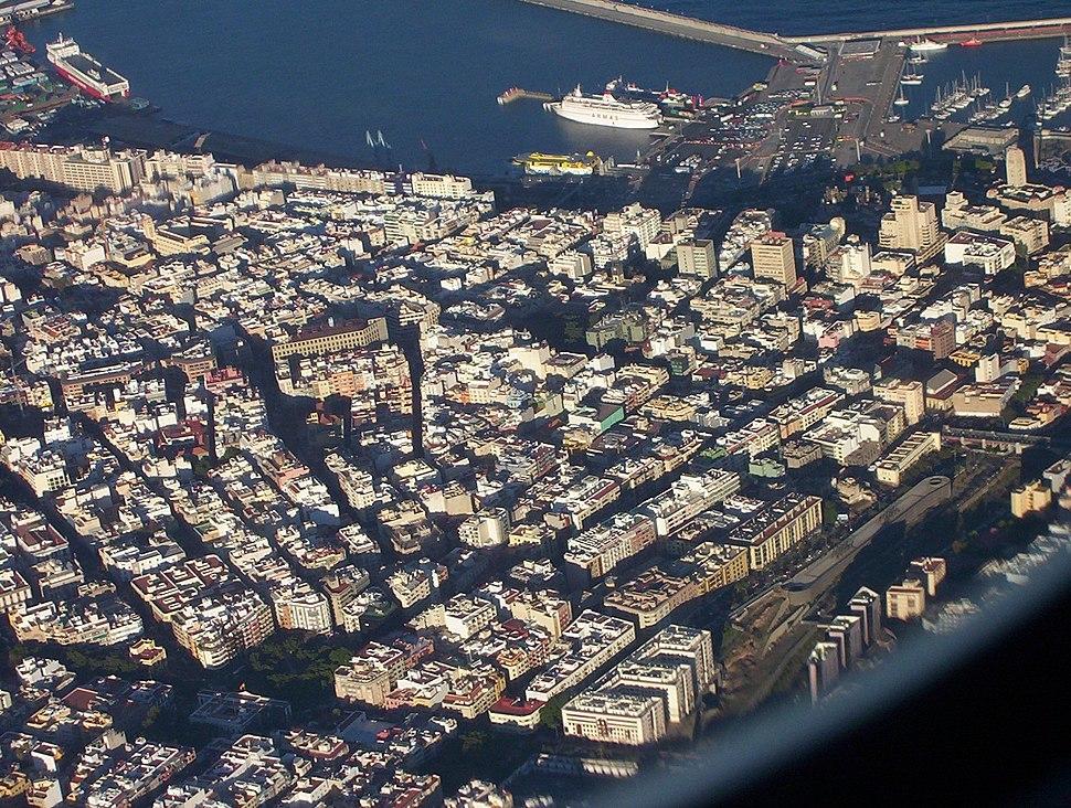 Santa Cruz de Tenerife-Aerial view