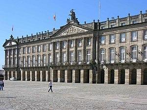 Xunta de Galicia - Pazo de Raxoi, in Santiago de Compostela.