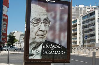 "José Saramago - ""Thank you José Saramago"", Lisbon, October 2010"