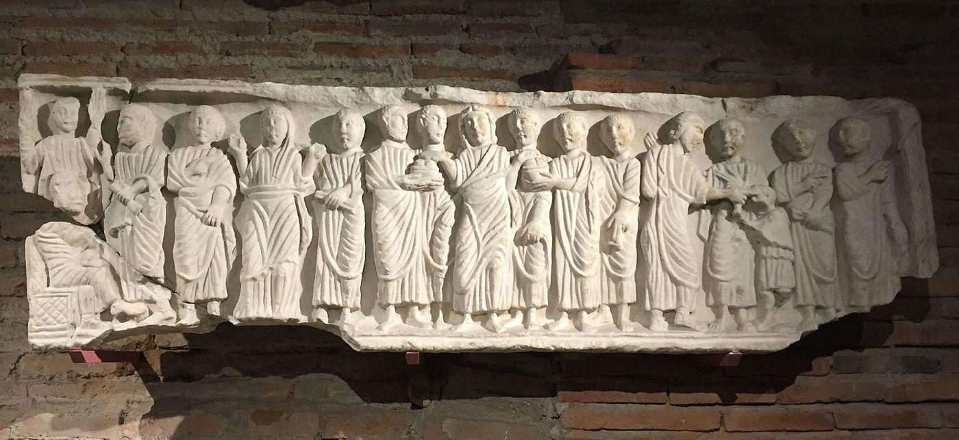 Devant d'une cuve de sarcophage (Ra 506)