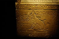 Sarcophagus of Thutmose's cat