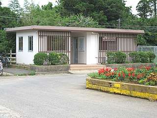 Saruda Station Railway station in Chōshi, Chiba Prefecture, Japan