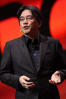 Satoru Iwata Japanese video game programmer and businessman