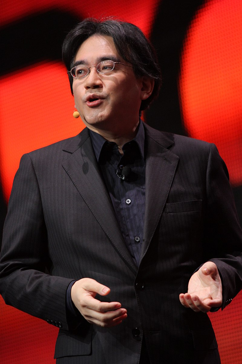Satoru Iwata at the 2011 Game Developer's Conference (Photo by Jean-Frédéric)
