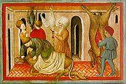 XVe siècle. Sacrifices dans le rituel juif.