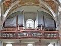 Scheer Pfarrkirche St. Nikolaus Innen Orgel.JPG
