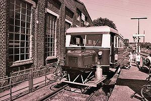 Wismar railbus - Image: Schienenbus 01
