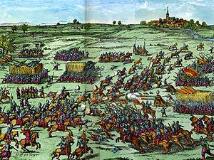 Battle of Sablat - Image: Schlacht von Zablat Hogenbersche Geschichtsblätter