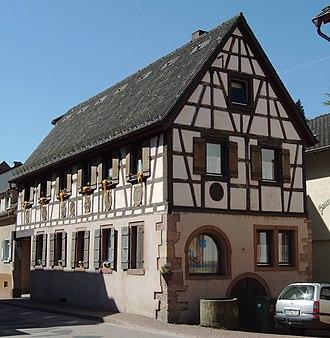 Schönau (Odenwald) - Old post office