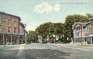 Boonville (village), New York - Schuyler Street c. 1910