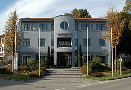 Das Rathaus in Schwabhausen