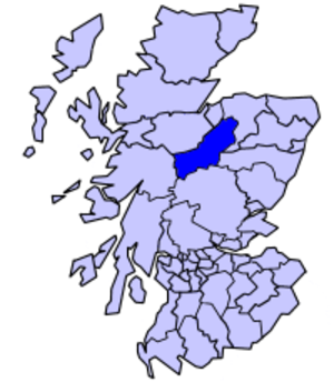 Badenoch and Strathspey - Badenoch and Strathspey  as a local government district 1975 to 1996