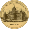 Official seal of Des Moines, Iowa