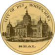 City of Des Moines pecsétje