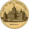 Seal of Des Moines, Iowa.png