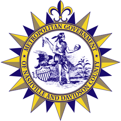 Official seal of Nashville, Tennessee
