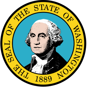 The Seal of Washington, Washington's state seal.